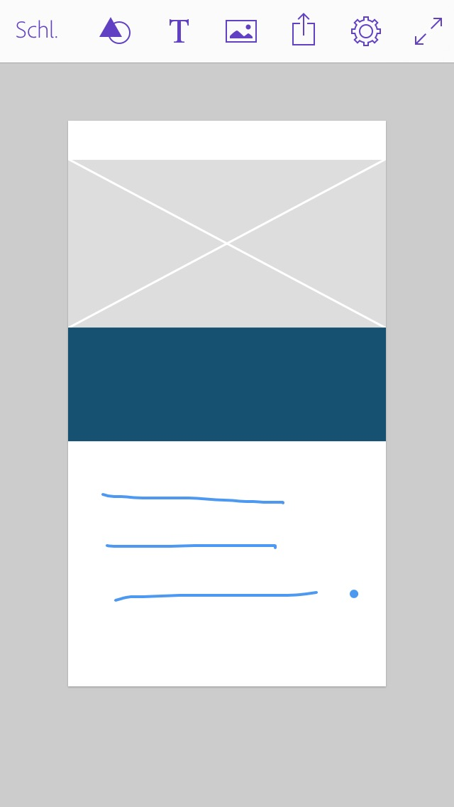 Comp Textzeichnung Screenshot