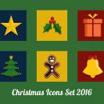 BitFriends Christmas Icon Set 2016